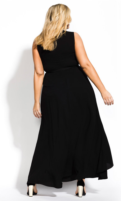 Antilla Maxi Dress - black
