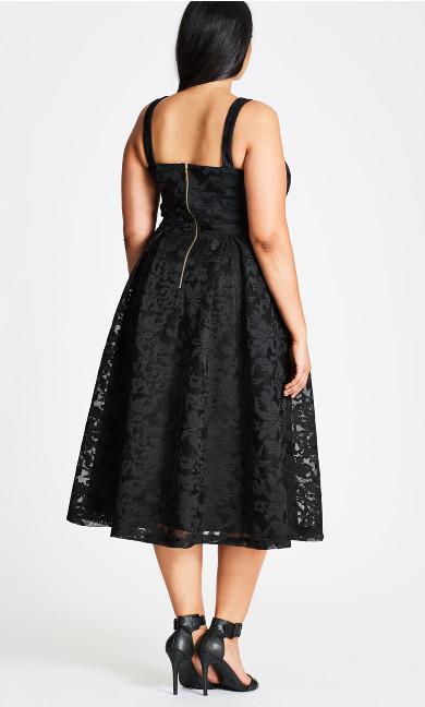 Jackie O Dress - black