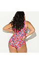 Terryn Twisted Cherry Blossom Swimsuit