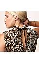 Leopard Choker Dress