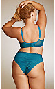 Plus Size Darcie Soft Lace Bra - jade