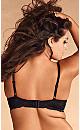 Plus Size Elise Lace Bra, Black