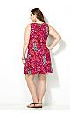 Aztec Printed Swing Dress