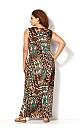 Eclectic Tribal Maxi Dress
