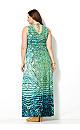 Smocked Burst Maxi Dress