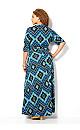 Blue Diamond Maxi Dress
