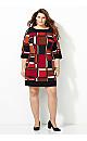 Block Print Sheath Dress