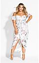 Heartbreaker Floral Maxi Dress - ivory