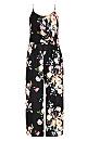 Tuscan Tie Jumpsuit - black