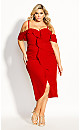 Va Va Voom Dress - red