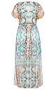 Casablanca Maxi Dress - ivory