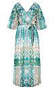 Istanbul Maxi Dress - mint