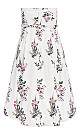 Sweet Bouquet Dress - ivory