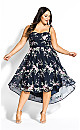 Aphrodite Dress - Navy