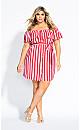 Sweet Midi Dress - red