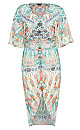 Women's Plus Size Budapest Dress - mint