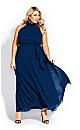 Honour Maxi Dress - sapphire