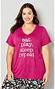 Eat Play Repeat Sleep Top