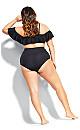 Elba Underwire Bikini Top - black