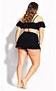 Rhodes Bikini Skirt - black
