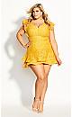 Sienna Dress - gold