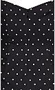 Aria Spot Dress - black