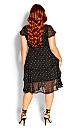 Summer Spot Dress - black