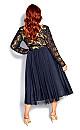 Rare Beauty Dress - navy