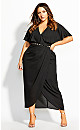 Enchantment Maxi Dress - black