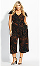Tracks Jumpsuit - black