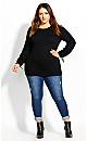 Moriko Sweater - black