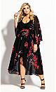 Iris Love Maxi Dress - black