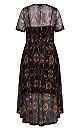 Animal Dye Dress - ochre