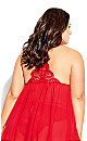 Delores Babydoll - red