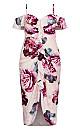 Vintage Blooms Dress - blush