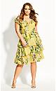 Sweet Garden Dress - buttercup