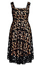 Lace Avery Dress - black