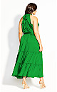 Halter Lady Maxi Dress - shamrock