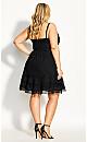 Fabricia Dress - black