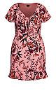 Festival Floral Dress - rose