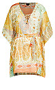 Plus Size Togo Tunic - lime