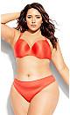 Plus Size Bodycon Contour Bra - tangerine