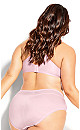 Plus Size Bodycon Shorty - pink