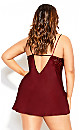 Ally Chemise - cranberry