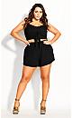 Women's Plus Size Vacay Short - black
