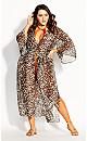 Women's Plus Size Cancun Jacket - leopard