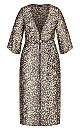 Women's Plus Size Cancun Jacket - leopard