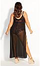 Miami Maxi Dress - black