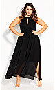 Illusions Maxi Dress - black