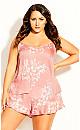 Plus Size Sienna Cami - peach